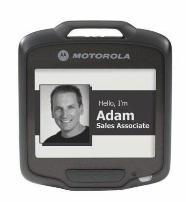Motorola Zebra SB1 Identificador personal con lector de codigo barras y WIFI