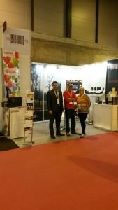 Pilar, Juan Manuel  y Juan Carlos  en Logistics 2015