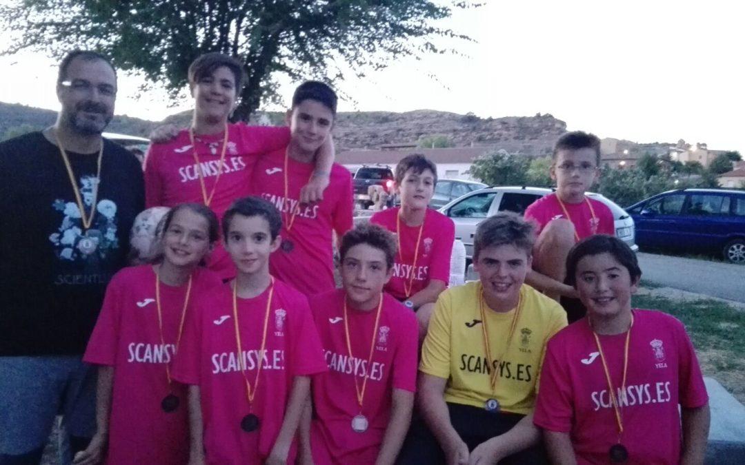 SCANSYS patrocina el equipo de fútbol de Yela para el INTERPUEBLOS